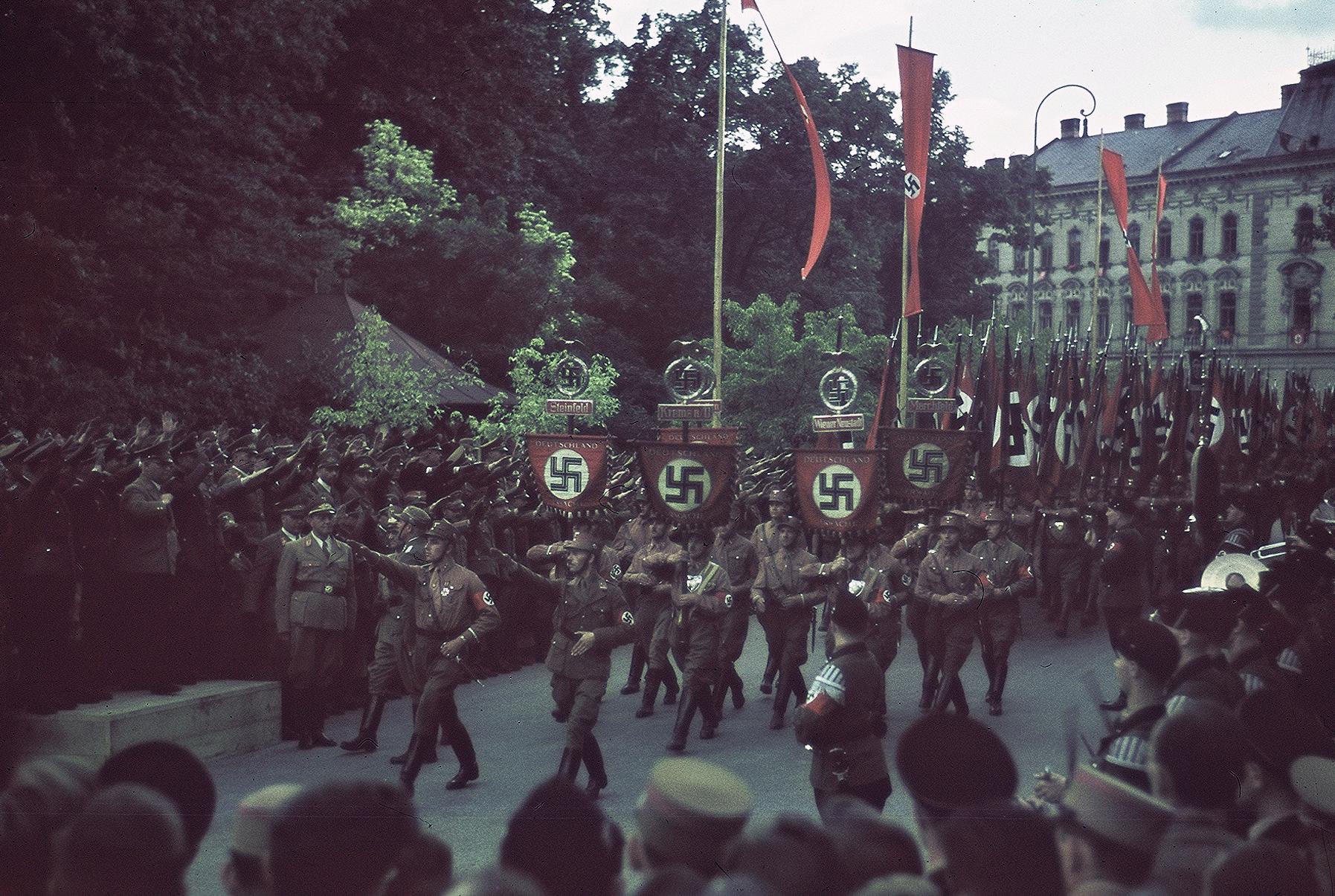 Aufmarsch Ringstraße 1938