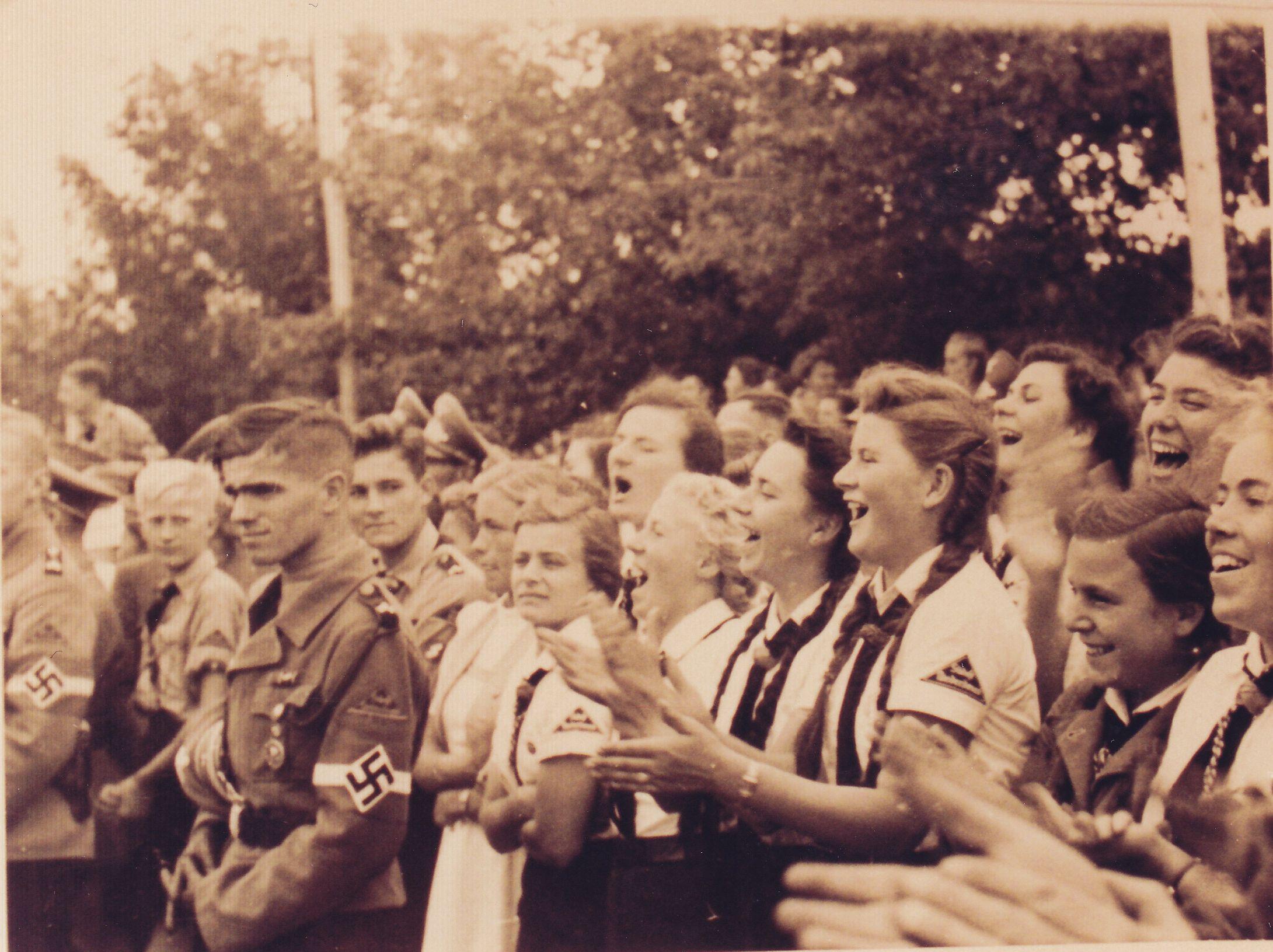 Begeisterung in Krems 1938