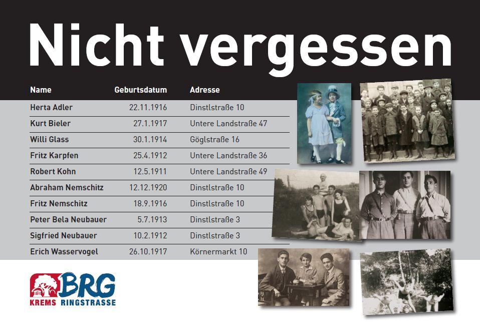 Gedentafel Krems 2